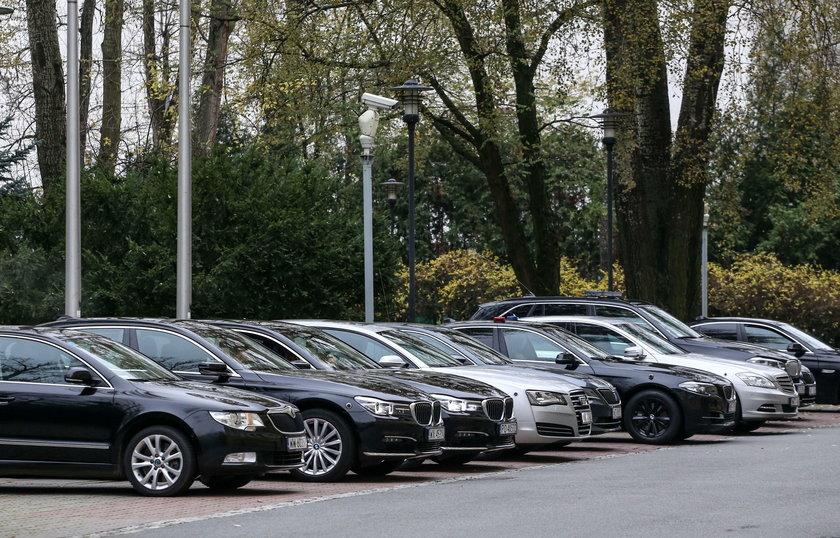 Flota rządowych aut już jest bardzo okazała