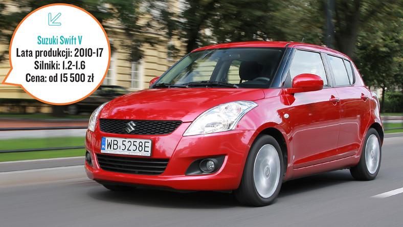 Tylko na zewnątrz Suzuki Swift V: Dobry wybór do miasta | Auta używane DB79
