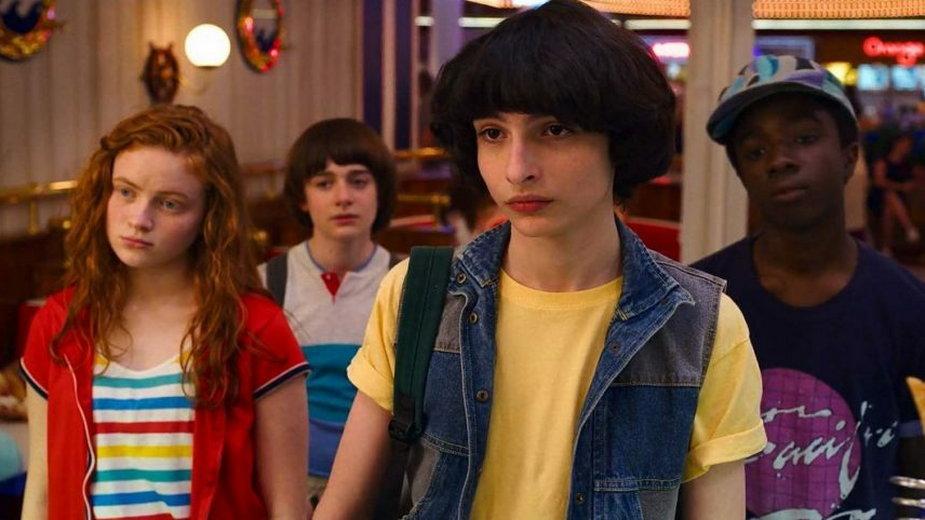 """Kadr z serialu """"Stranger Things"""""""