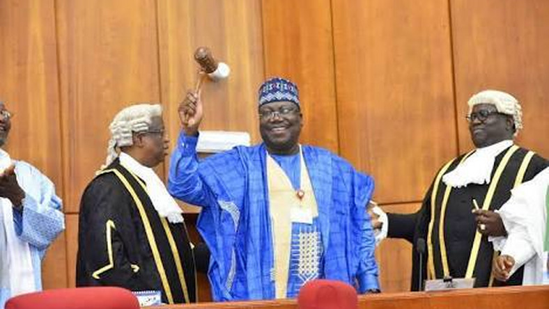 President of the Senate, Dr. Ahmad Lawan. [Twitter/@SPNigeria]