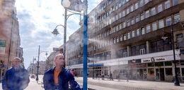 Nowy pomysł na kurtyny wodne w Łodzi