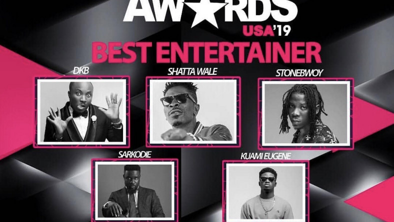 Pulse.com.gh, Shatta Wale, Sarkodie, others nominated for 2019 Ghana Entertainment Awards USA