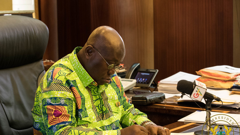 President Akufo Addo assents to RTI Act
