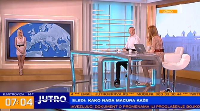 Ksenija, Jovana i Srđan u Jutarnjem programu Prve