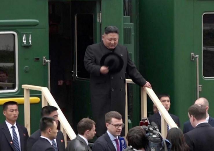 Kim Džong Un stigao u Rusiju ap