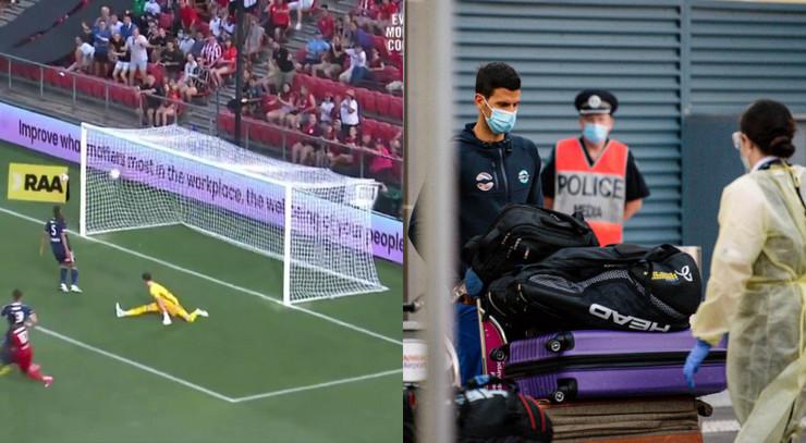 Fudbal protiv tenisa u Adelejdu