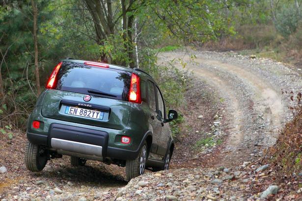 Fiat panda 4x4. Tu w wersji normalnej.