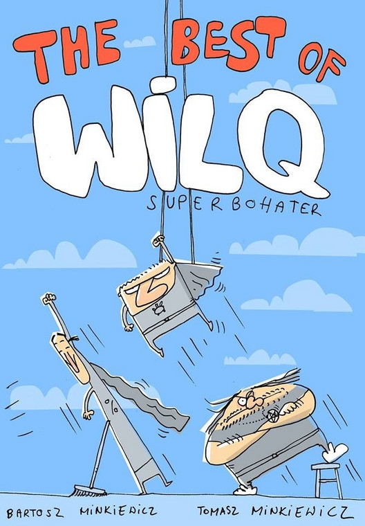 """The best of Wilq Superbohater"" (okładka)"