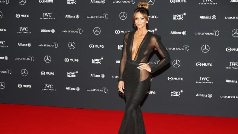 Brytyjska dziennikarka brała wczoraj udział w gali Laureus World Sports Awards w Monako...