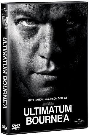 """Ultimatum Bourne'a"", okładka DVD"