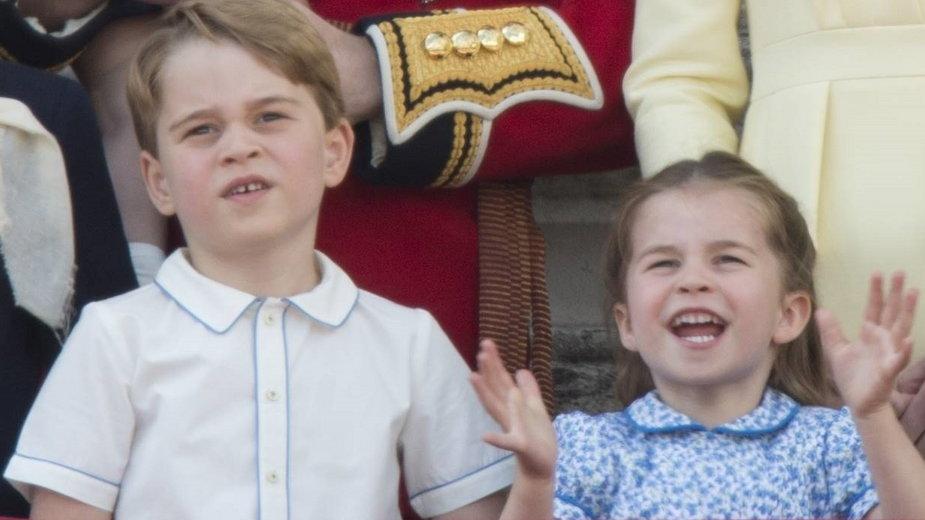Książę George i księżniczka Charlotte