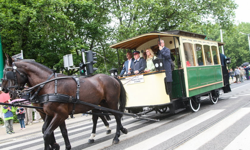 parada zabytkowych tramwajow