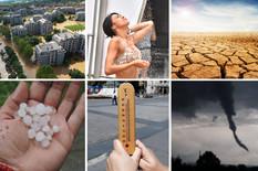 SUŠE, KIŠA, OLUJNI VETROVI, NOVE BOLESTI Razarajuće klimatske promene će biti sve veće, a prvi na udaru je BALKAN