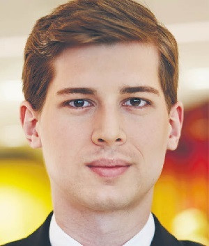 Wiktor Witkowski, ekspert w zespole usług dla sektora finansowego PwC
