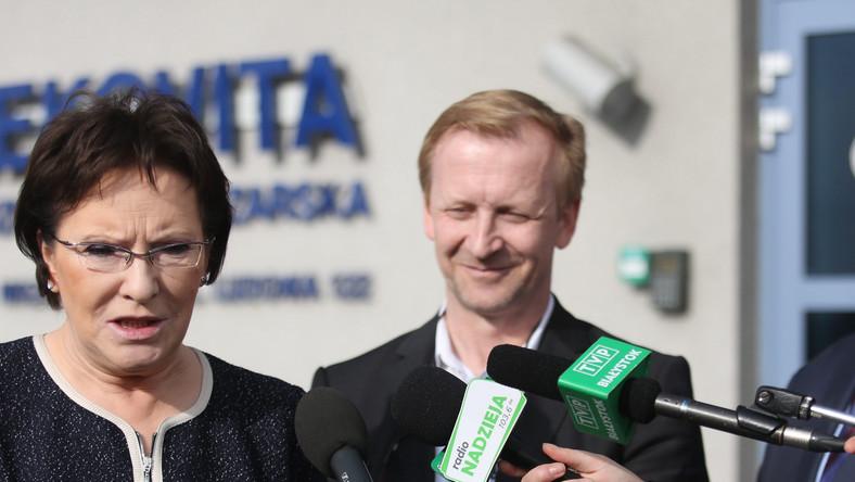 Ewa Kopacz i Adam Piechowicz