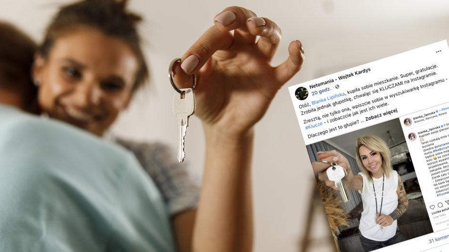 """Polacy chwalą się kluczami do mieszkań w sieci. """"Proszą się o włamanie"""""""
