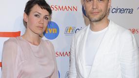 """Bołądź i Żebrowski na premierze  filmu """"Nad życie"""""""