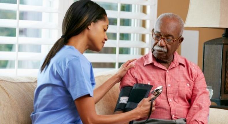 Hypertension (High blood pressure) is blood pressure of 140/90 mm Hg or greater. Keeping BP below 120/80 mm Hg is important to good health.