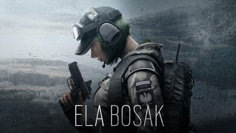 Rainbow Six: Siege darmowy weekend i polska operatorka - Ela Bosak