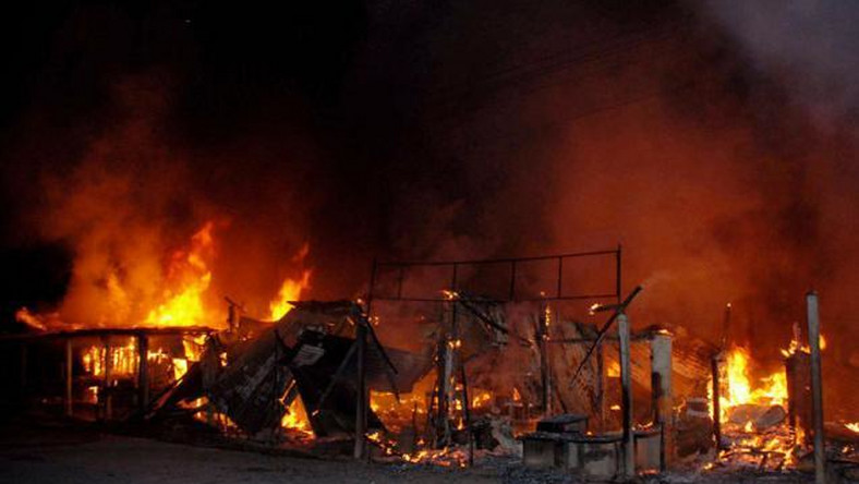 Image result for fire incident in kano