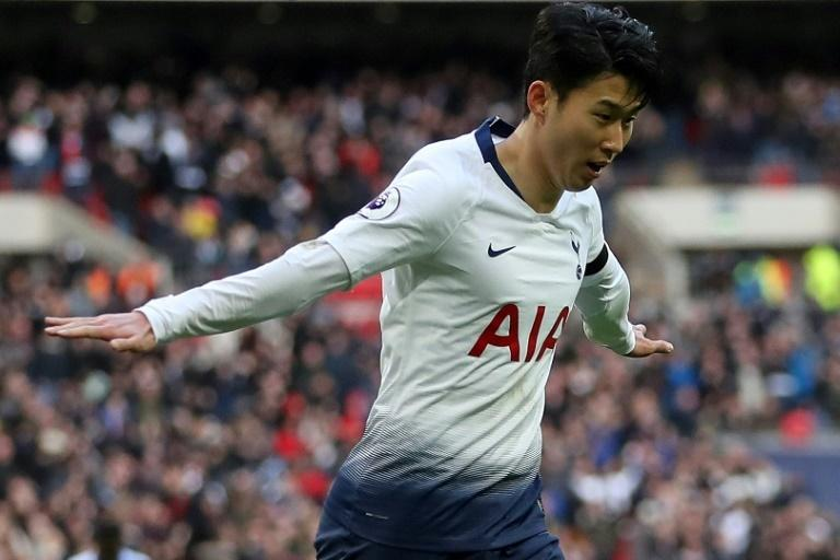 South Korean striker Son Heung-min is in a rich vein of form for Tottenham