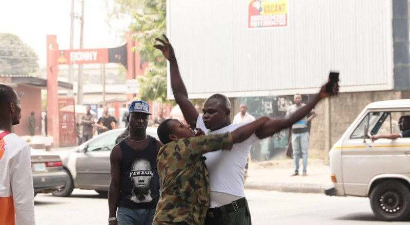 How soldiers beat up Lagos state officials