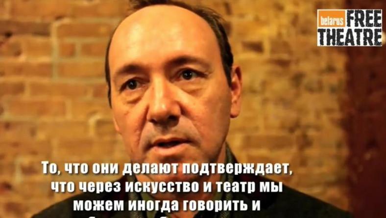 Kevin Spacey wspiera wolną Białoruś