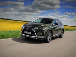 Lexus RX – nie musi być hybrydą