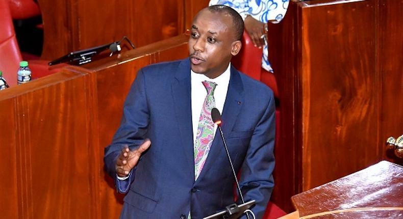 Makueni Senator Mutula Kilonzo Junior