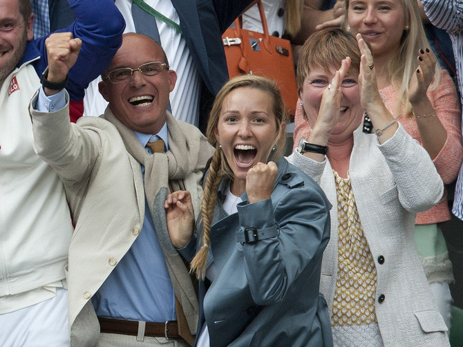Jelenina pobednička izdanja: Dok je Novak igrao u finalu, bodrila ga je u najvećem stilu