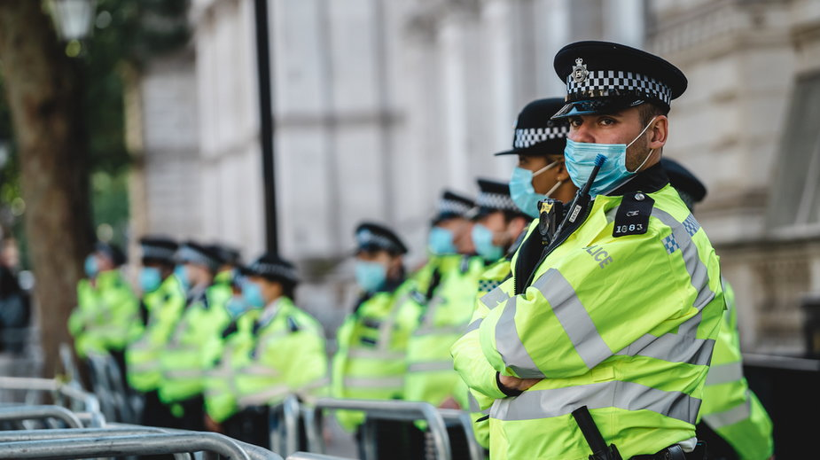 Londyńska policja (zdjęcie ilustracyjne)