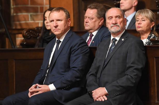 Jacek Kurski i Antoni Macierewicz