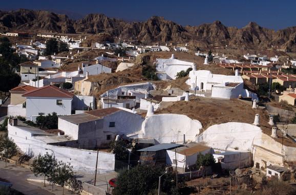 Andaluzijsko selo Gvadiks