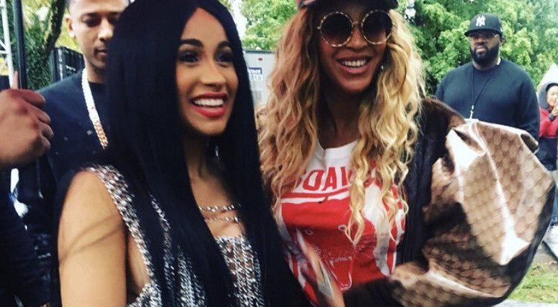 Cardi B gets huge Adidas x Ivy Park Collection gifts from Beyonce [Video]