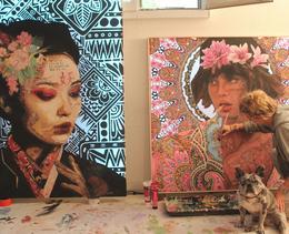 Cette artiste zurichoise peint des œuvres lumineuses