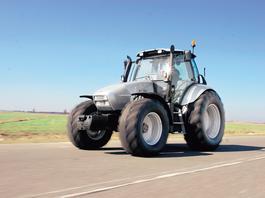 Traktor Lamborghini z archiwum Auto Świata