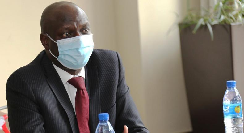 Energy Cabinet Secretary Charles Keter during a recent meeting with Ethiopian delegates
