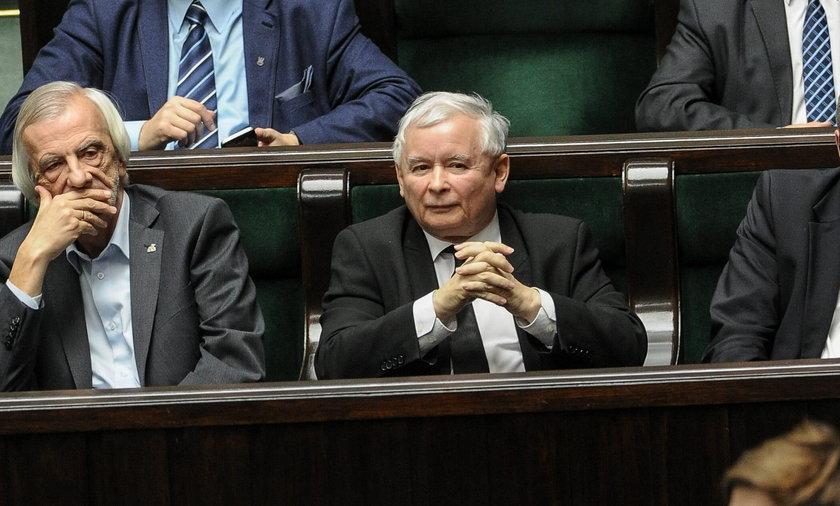 Co krzyczał Kaczyński?