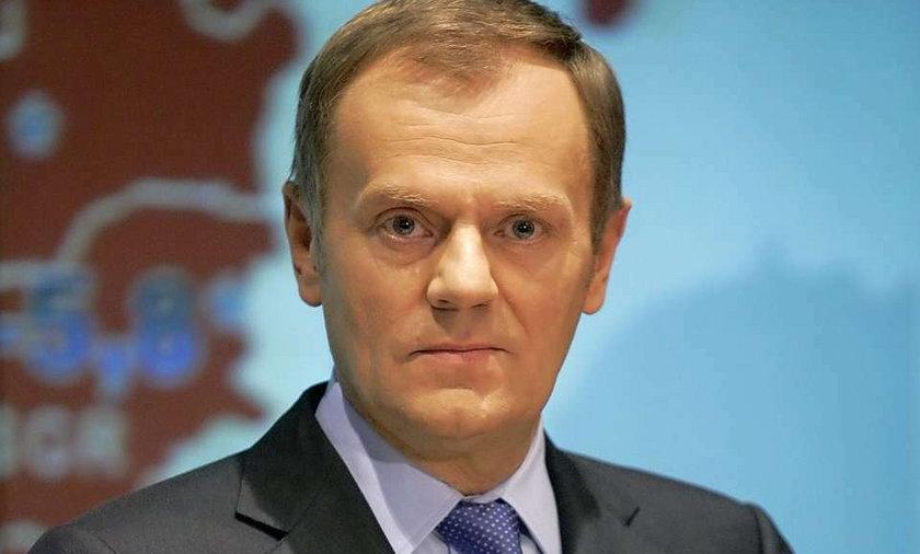"""Tusk mówi """"nie"""" wojnie"""