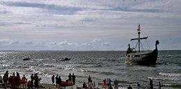 Statek z turystami utknął na mieliźnie w Międzyzdrojach