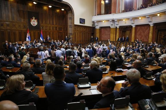 Skupština Srbije sutra počinje prolećno zasedanje