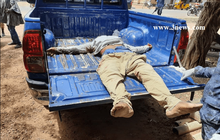Notorious armed robber shot dead at Yeji (Credit: 3News.com)