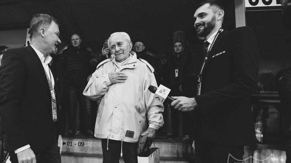 """Zmarł pan Kazimierz. Był najstarszym kibicem """"Podbeskidzia"""""""""""
