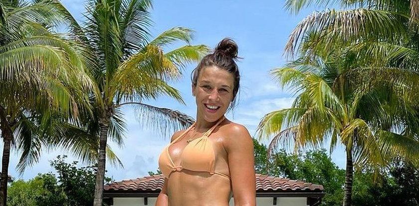 Jędrzejczyk trenuje na Florydzie, ale nie ominęła też plaży w Miami. GALERIA