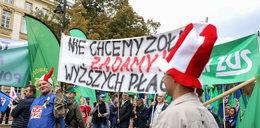 Protest budżetówki: mamy dość życia za grosze!