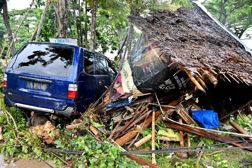 Indonezji grożą kolejne tsunami? Rośnie liczba ofiar