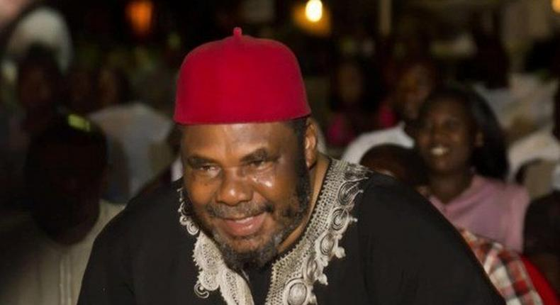 Pete Edochie at the night of tributes held in honour of Pete Eneh