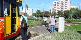 Fuszerka na pętli tramwajowej na Mokotowie