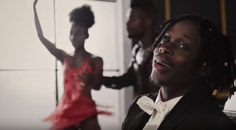 Fireboy is a ballroom dancer in video for, 'Vibration'