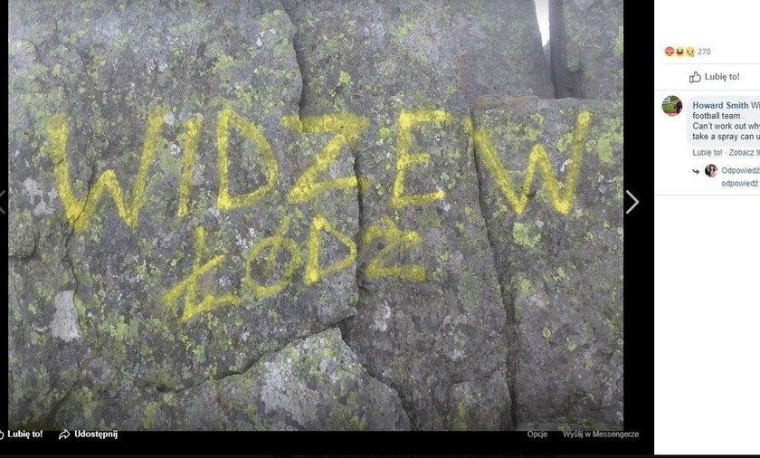 Polacy oszpecili szczyt w górach Snowdonia w Walii. Brytyjczycy są wściekli
